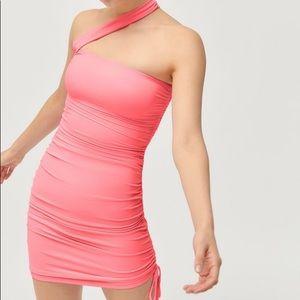 Tiger Mist Ciera Ruched Mini Dress
